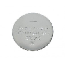 Lithium coin battery CR2016 3V 75mAh 20x1.62mm Kinetic