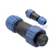 Lizdas kabelinis IP68 SP1310/S2I WEIPU
