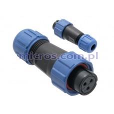 Lizdas kabelinis IP68 SP1310/S3I WEIPU