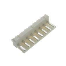male striaght with latch PCB 8 pin pitch 3.96mm tinned