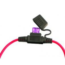 Mini  Auto  Fuse  Holder  black  AWG14