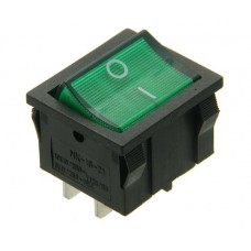 MIRS201-4C3gr illuminated rocker switch