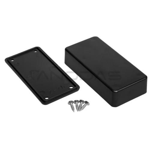Plastikinė dežutė Kradex Z75 ABS Juoda 23.0x45.0x95.0mm