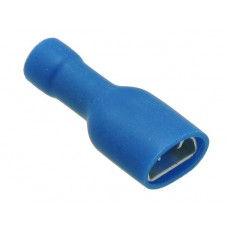 Push-on terminal female 6.3x0.8mm full insulated for cable 2.5mm