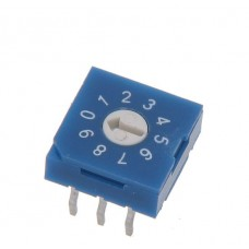 R9310R0H SAB Rotary Coded Switch DEC/BCD 10 positions