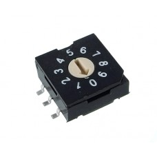R9310R0S SAB Rotary Coded Switch DEC/BCD 10 positions