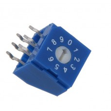 R9310R0Y SAB Rotary Coded Switch DEC/BCD 10 positions