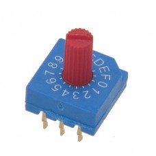 R9316C7H SAB Rotary Coded Switch HEX/BCD 16 positions