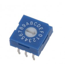R9316R0H SAB Rotary Coded Switch HEX/BCD 16 positions