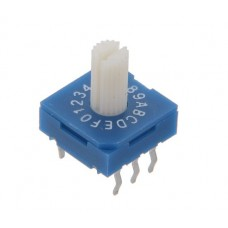 R9316R7H SAB Rotary Coded Switch HEX/BCD 16 positions