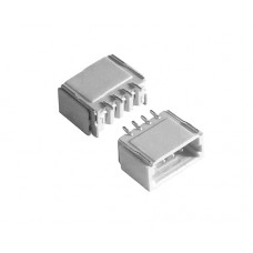 SH Male connector 4 pin pitch 1.0mm 0.5A 50V horizontal
