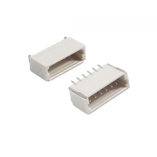 SH Male connector 6 pin pitch 1.0mm 0.5A 50V horizontal