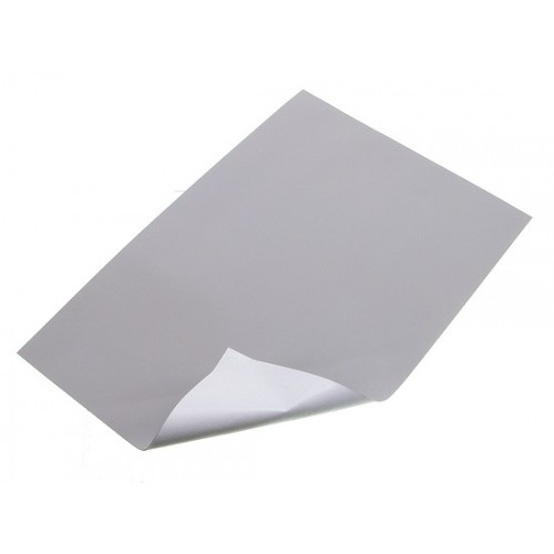 Silicone sheets for pads 150x220mm 1/side adhesive