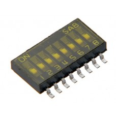 SOP08E SAB dip-switch IC type 8 contacts SMD montage p 1.27mm