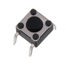 Tact switch TACTRONIC Ts06-050p 6x6mm h=5.0mm