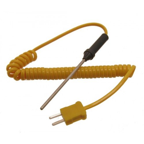 Thermocouple K-type VA3411 spiral cable temperature range:-50