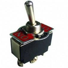 Tumbleris be fiksacijos ON-(ON) SPDT 3P 5A 250VAC