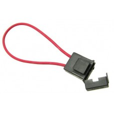 UNI Auto Fuse Holder black with cable vertical