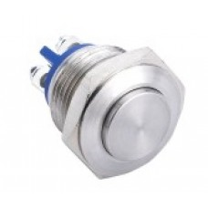 Vandal proof push button switch W16H10/S