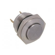 Vandal proof push button switch W16H10R/S
