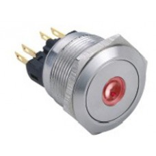 Vandal proof push button switch W22F11DR12/S