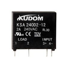 Relay KUDOM SSR 4-6VDC - 240VAC 2A