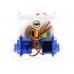 Ring:bit roboto važiuoklė su servo varikliais