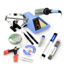 Litavimo įrankių rinkinys su litavimo stotele ZD99