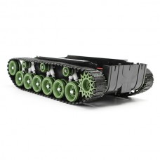 Smart Robot Tank Chassis - Green color