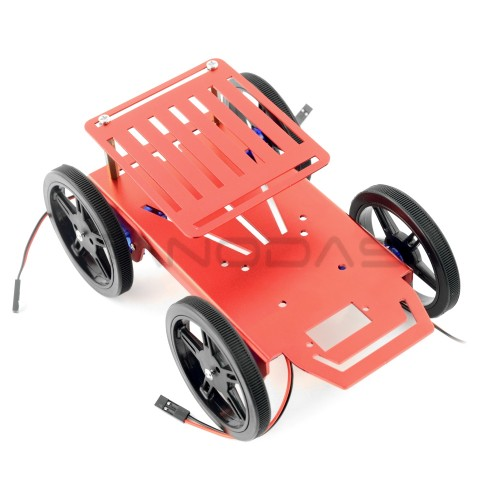 Robot Chassis 4WD - Feetech FT-MC-004-KIT With FS90R Servo