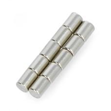 Neodymium magnets Calamit N35/Ni 3x4mm - 10pcs