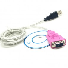 RS232 Serial DB9 Pin Male to USB 2.0 PL-2303 Cable