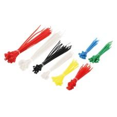 Cable tie set 100x2.5mm various colors
