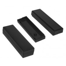 Plastikinė dėžutė Kradex Z115 juoda 21.0x30.0x105.0mm