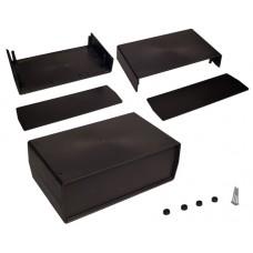 Plastikinė dėžutė Kradex Z15 juoda 90.0x250.0x148.0mm