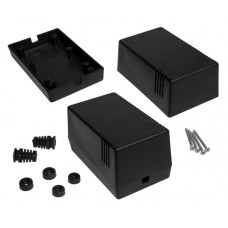 Enclosure Kradex Z16 black 63.0x70.0x114.0mm