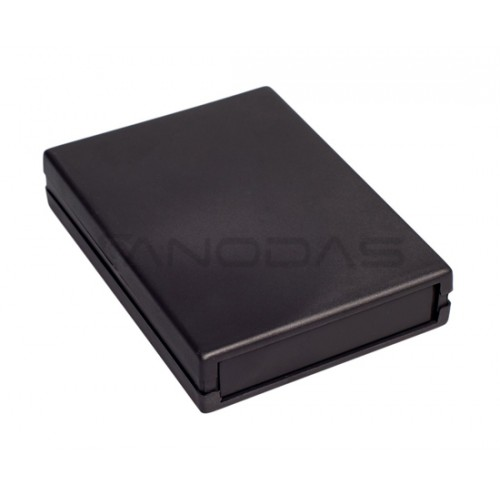 Plastikinė dėžutė Kradex Z19 juoda 25x94.0x128.0mm