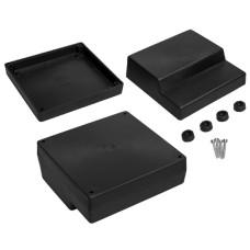Plastikinė dėžutė Kradex Z20 juoda 53.9x120.4x126.1mm
