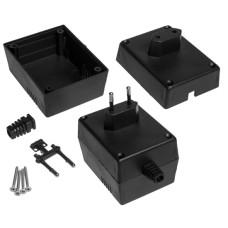 Plastikinė dėžutė Kradex Z21 juoda 55.0x64.0x82.0mm