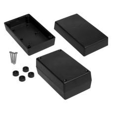 Plastikinė dėžutė Kradex Z30A juoda 44.0x70.0x120.0mm