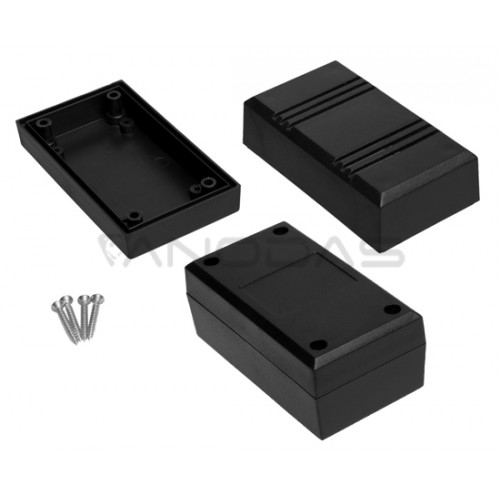 Plastikinė dėžutė Kradex Z45W juoda 43.3x56.1x99.8mm