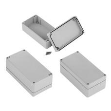 Plastikinė dėžutė Kradex  Z54JS šviesiai pilka 89x75x41mm