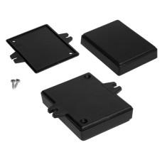 Plastikinė dėžutė Kradex Z71U juoda 18.1x59.4x76.5mm