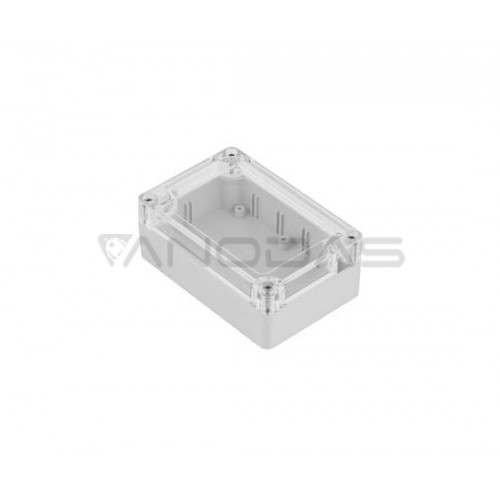Plastikinė dėžutė Kradex  ZP135 šviesiai pilka 60.1x134.8x134.8mm