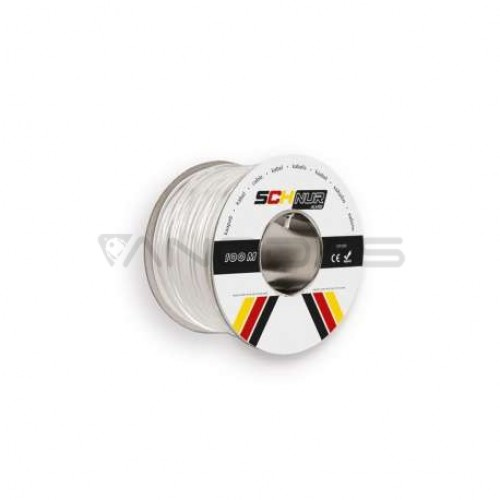 Ryšio kabelis SCHNUR 4x0.22mm² 1m