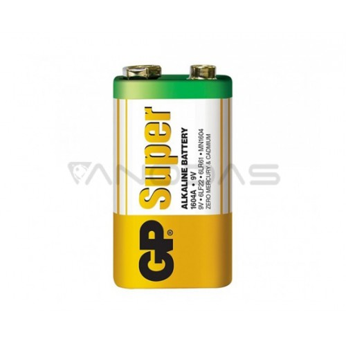 Šarminė baterija 6F22 9V GP SUPER