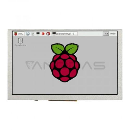 Waveshare DPI Ekranas Raspberry Pi Mikrokompiuteriui - LCD IPS 5''