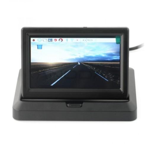 Ekranas Raspberry Pi Mikrokompiuteriui - LCD TFT 5''