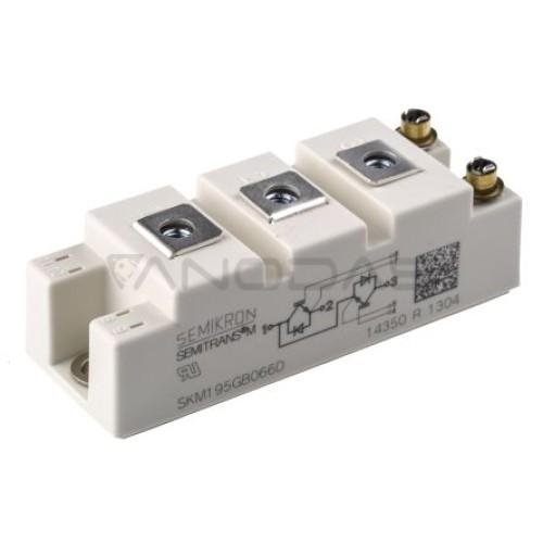 Semikron IGBT modulis SKM195GB066D 265A max 600 V