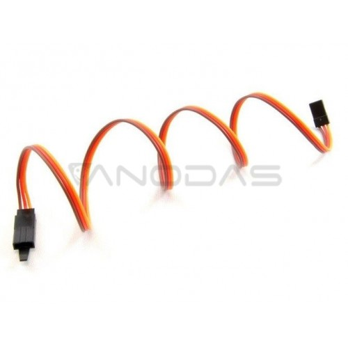 Servo extension cord (JR) 90 cm. 3x0.25 - universal - with lock - AMASS